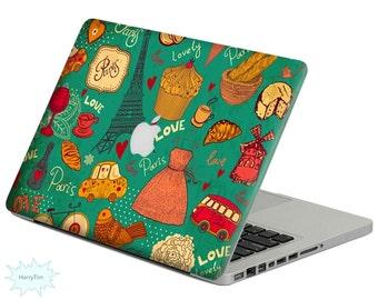 New Paris decal mac stickers Macbook decal macbook stickers apple decal mac decal stickers