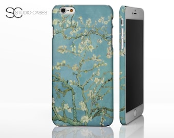 Almond Blossom - Vincent Van Gogh Classic Art Phone Case for iPhone Models.