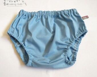 Diaper cover baby blue, Baby diaper cover blue diaper cover Light blue diaper covers Blue baby bloomers 0-3m 3-6m 6-12m 12-24m