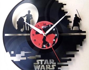 Vinyl wall clock - Starwars