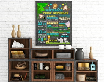 "Personalized ""Birthday Themed"" Wall Art"