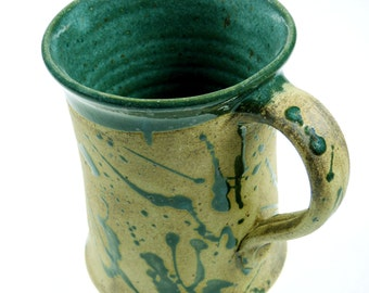 Cup just green with speckles
