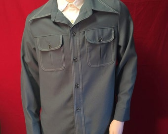 Mens vintage button up ***Free shipping