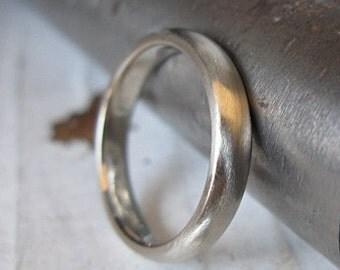 Mens Wedding Band White Gold Mens Wedding Ring Unique Mens Wedding Band Semi Comfort Fit White Gold Mens Wedding Bands Mens Wedding Rings