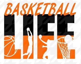 Basketball svg , basketball design, basketball svg, basketball, Basketball Life ,Life Design silhoutte studio