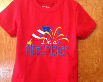 Fourth of July Infant and Toddler Shirt ready to celebrate the holiday in style!