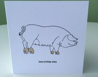 Birthday Card - Choice of Colours