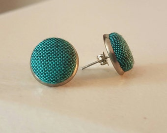 Gorgeous Fabric Earrings
