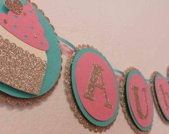 Cupcake Banner