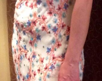 Dress 100% pure silk LAUNDRY by Shelli Segal, women size 6
