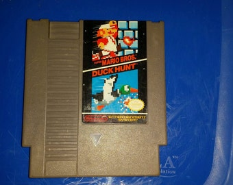 Mario Brothers and Duck hunt Regular Nintendo