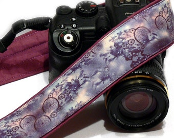 Dream Catcher Camera Strap. Purple Camera Strap. Photo gear. Camera Accessories. SLR, DSLR Camera Strap. Gift For Photographer.