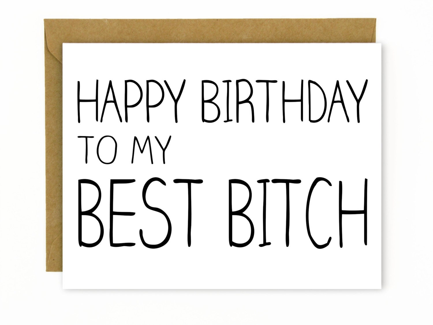 Funny Birthday Card for Friend Wife Mom Resting Bitch – Funny Birthday Card for Friend