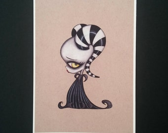 Baby Succubus - Limited edition Fine art giclee print