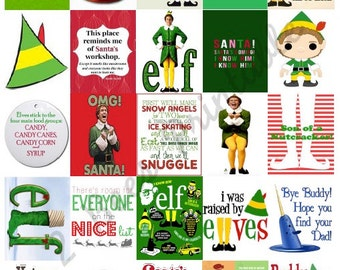 Printable Buddy the Elf Inspired Stickers for Planners