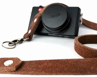 Leica camera leather strap