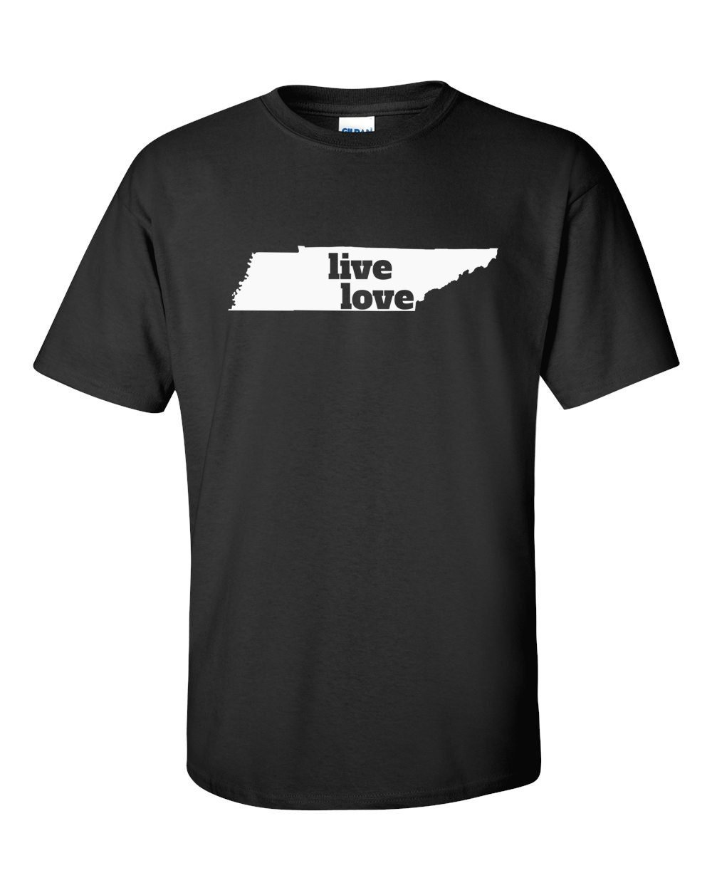 Tennessee T-shirt - Live Love Tennessee - My State Tennessee T-shirt