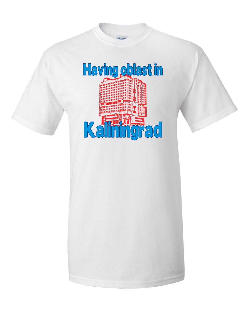Kaliningrad T-shirt - Having Oblast In Kaliningrad - Russian T-shirt