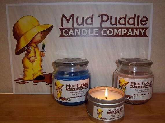 lemon lavender 16oz hand poured premium scented jar candle