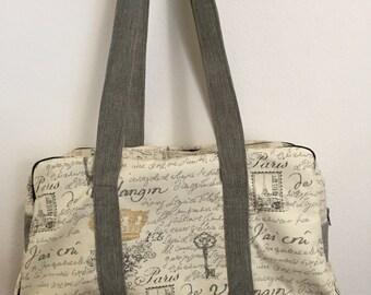 Paris Retro Travel Bag