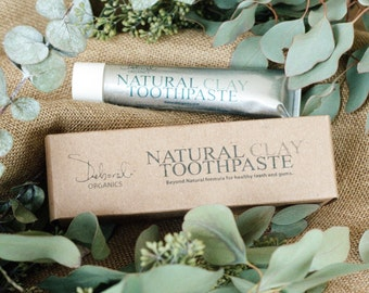 Natural Clay Toothpaste