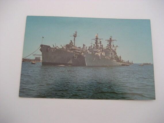 Basket Making Supplies San Diego : San diego bay postcard navy ships destroyer