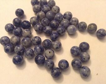 8mm sodalite beads
