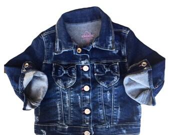 Toddler girls jean jacket size 2T