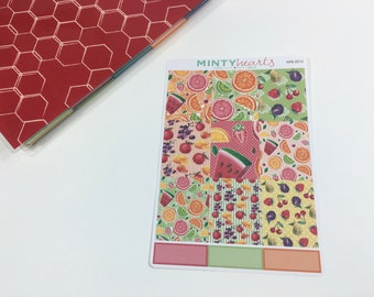 NFB-0010 // Tutti Fruity Full Box Planner Stickers