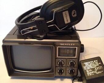 """1985 Bentley 1000, 5"""" Portable Television"""