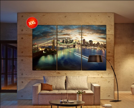 new york  canvas wall art skyline new york wall decoration new york canvas wall art art new york   wall decor canvas wall art art