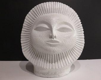 Mid-Century Modern Sun Sculpture In The Manner Of Paul Bellardo.