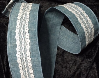 2 1/2 in x 3yd Wired Ribbon 008