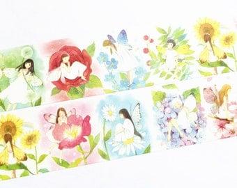 Flower fairies washi tape (T00304)