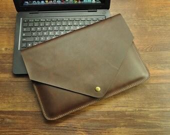 MacBook Case 13 inch/MacBook case 12 inch/Leather MacBook/Laptop Case Leather/MacBook Case/12inch MacBook case/ProRetina case/MacBook 12