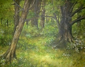 Summer Woods