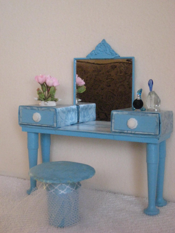 Handmade Barbie Doll Furniture Barbie Vanity Set Perfume