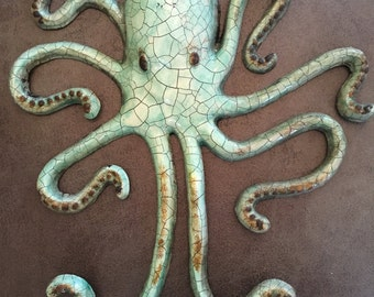 Octopus Wall Art Hooks