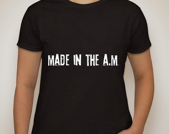 "one direction ""made in the a.m."" t-shirt"