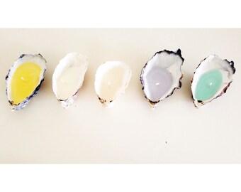 Cornish Oyster Shell Candle (dozen)