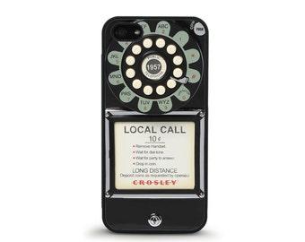 Rotary Phone Case - iPhone 4/4s, 5/5S, 5C, 5SE, 6/6 plus, 7/7 Plus, Samsung Galaxy S4, S5, S6/edge/edge plus, S7/S7E