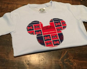 Ole Miss Disney Shirt
