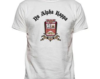 Nu Alpha Kappa Vintage Crest T-shirt
