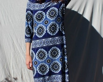 Mandala Midnight Dress