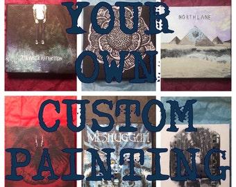 Custom Mini Painting of Your Choice!