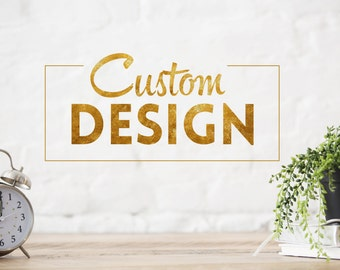 Customize a PREMADE DESIGN