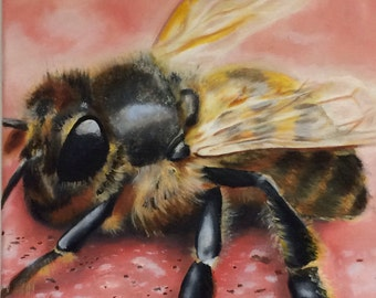 Print of Bee Painting