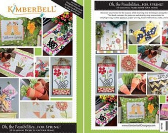 oh, The Possibilities for Spring! (Book) By Kimberbell