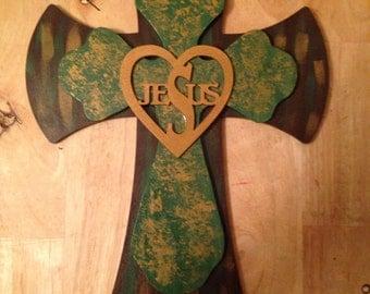 Jesus wall cross