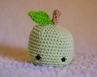 Mini Apple crochet